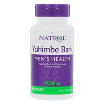 Natrol Yohimbe Bark 500 mg (90 капс)