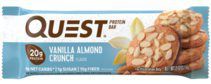 Quest Bar 60 гр Vanilla Almond Crunch (ваниль-миндаль)